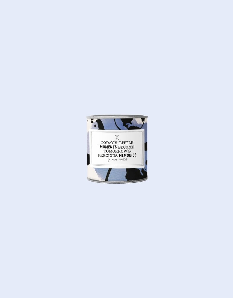 The Gift Label The Gift Label Candle Tin Moments Jasmine / Vanilla S