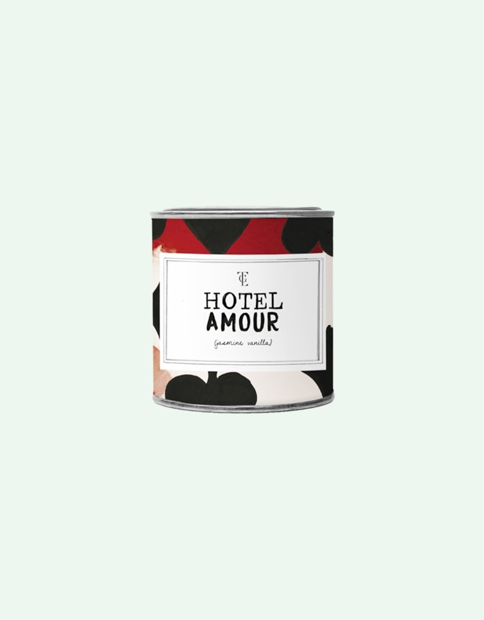 The Gift Label The Gift Label Candle Tin Hotel Jasmine / Vanilla L