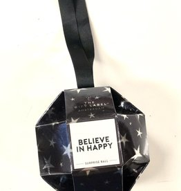 The Gift Label The Gift Label X mass ornament Believe in Happy