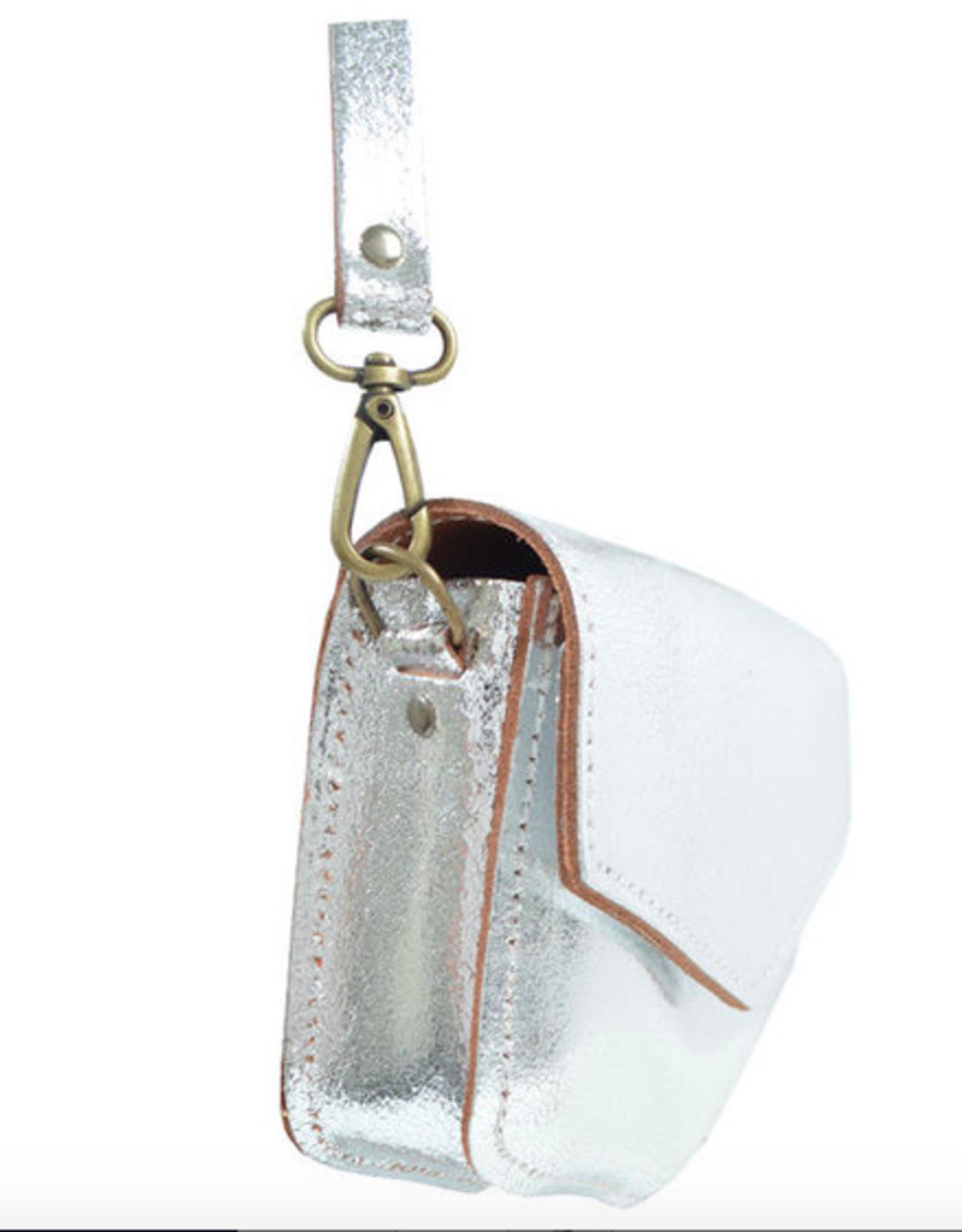 Elvy Elvy Bag Kelly Metallic KM Silver