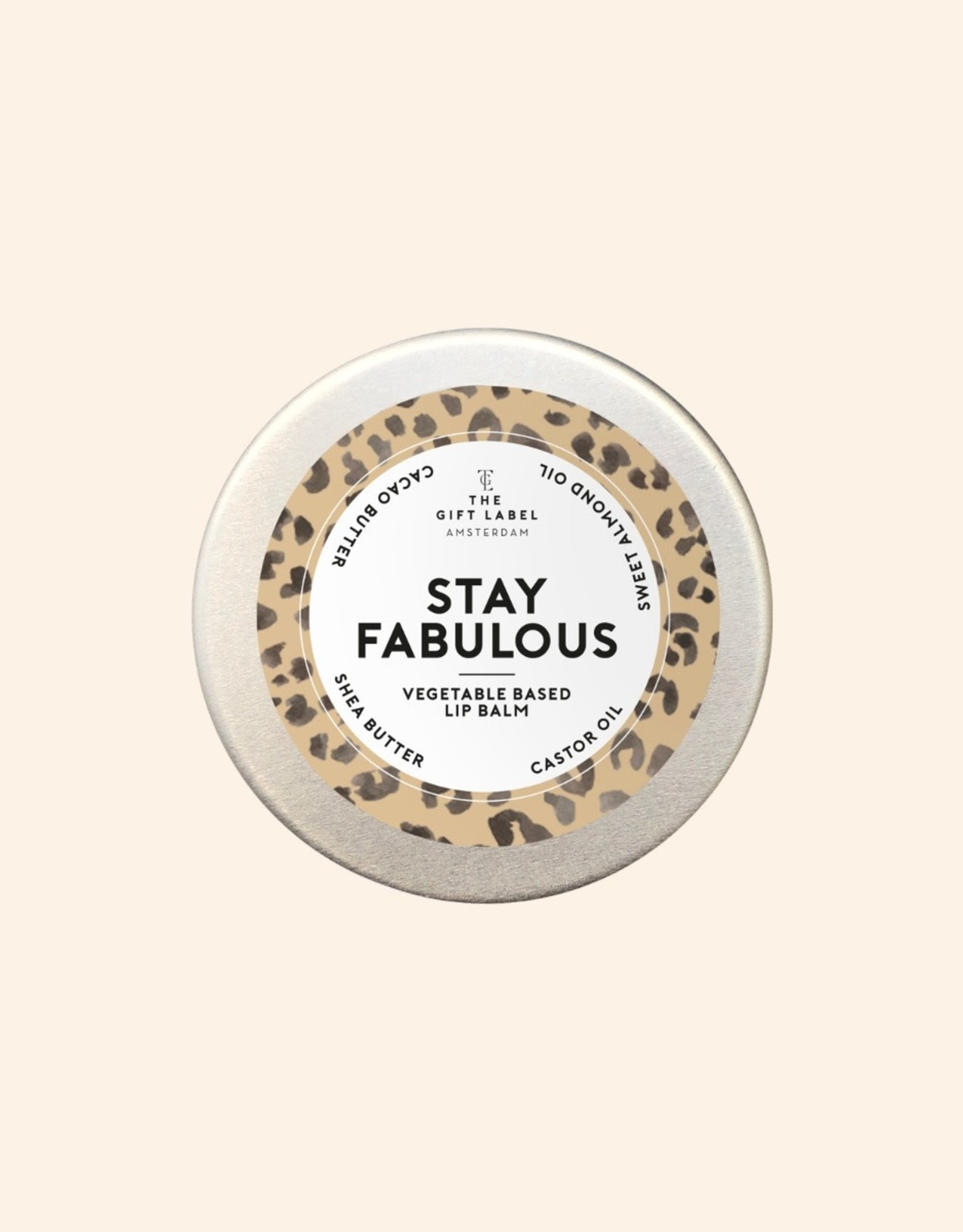 The Gift Label The Gift Label Lip balm Stay Fabulous