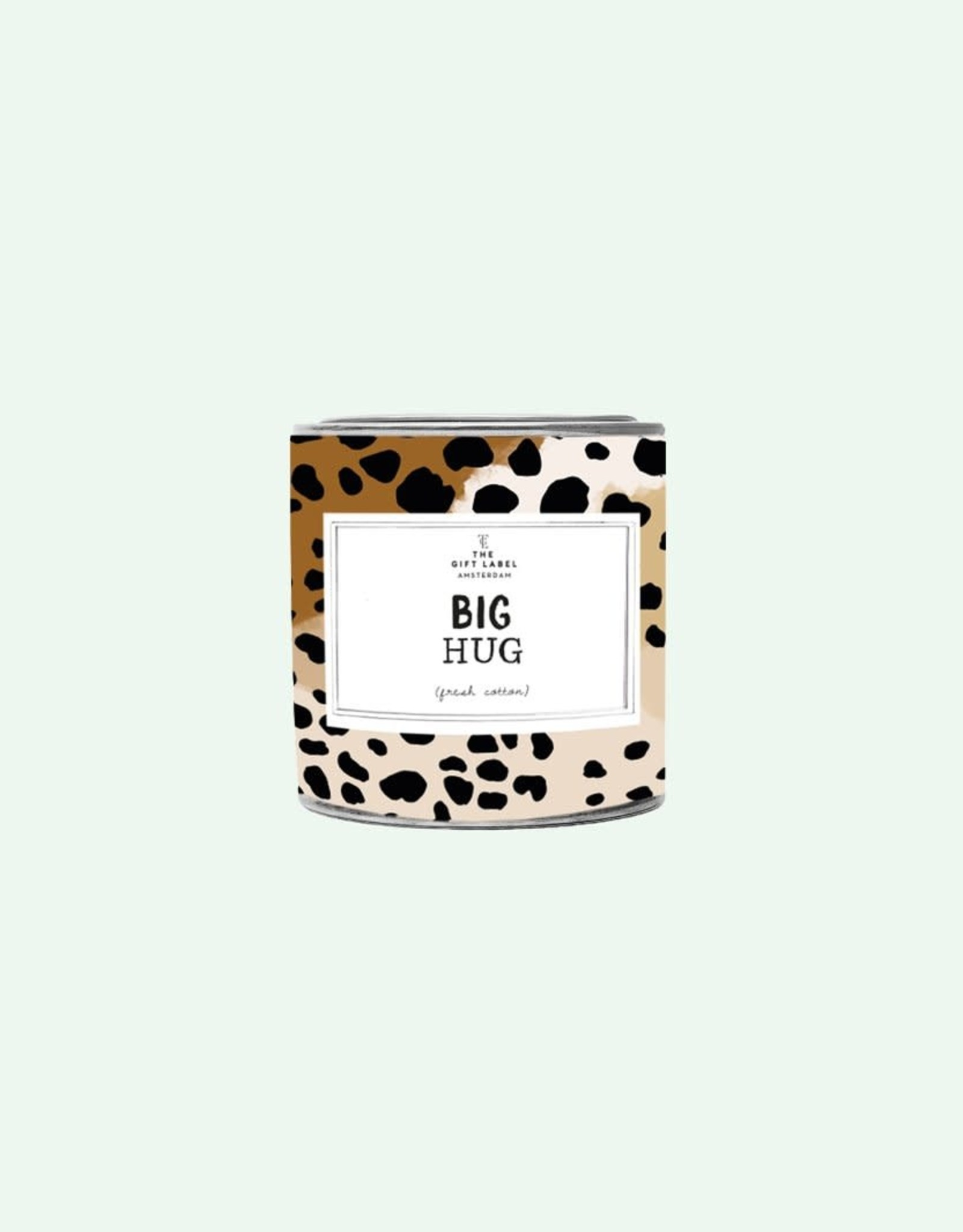 The Gift Label The Gift Label Candle Tin Big Hug Jasmine / Vanilla L