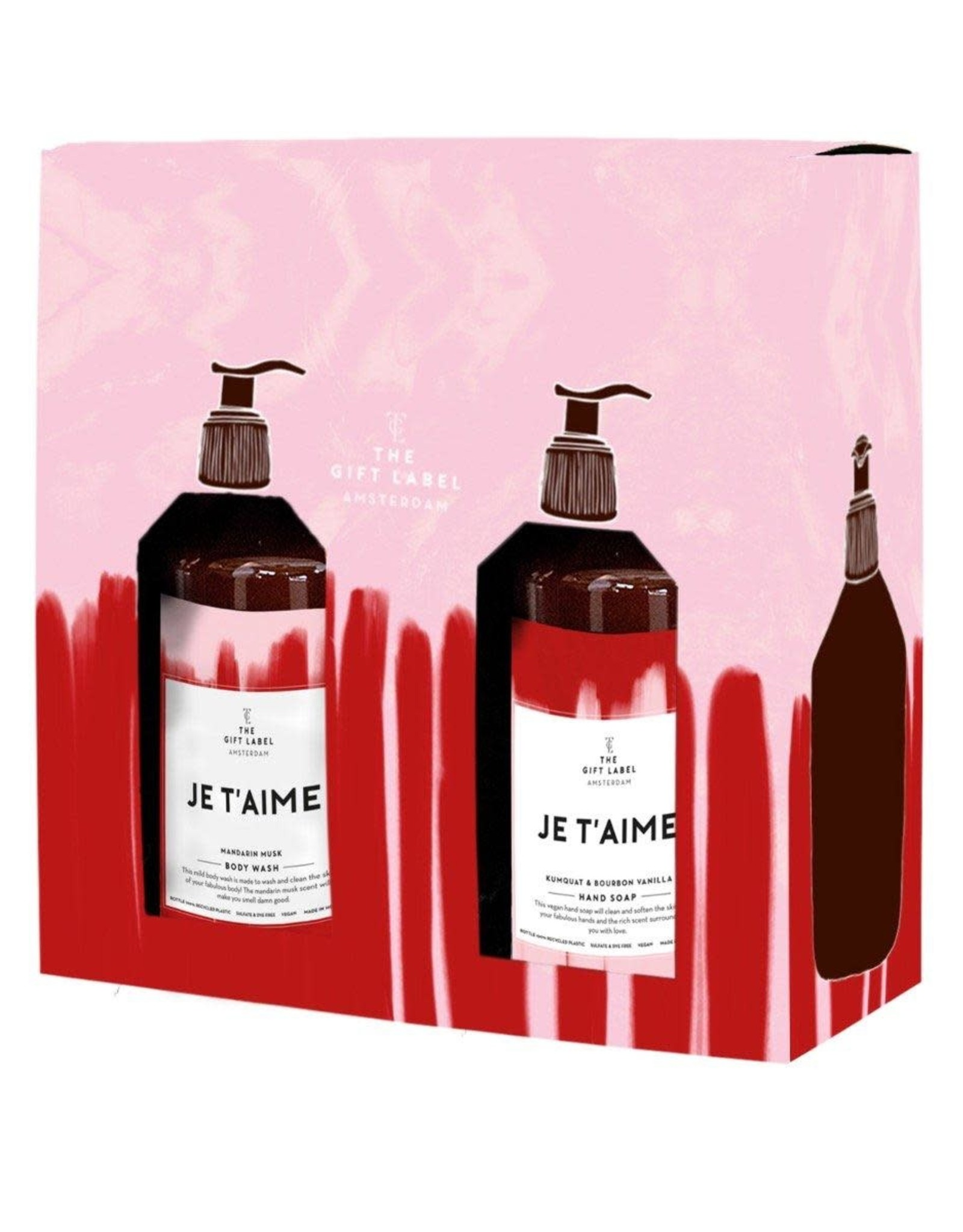 The Gift Label The Gift Label Gift Box Je t'aime - HER