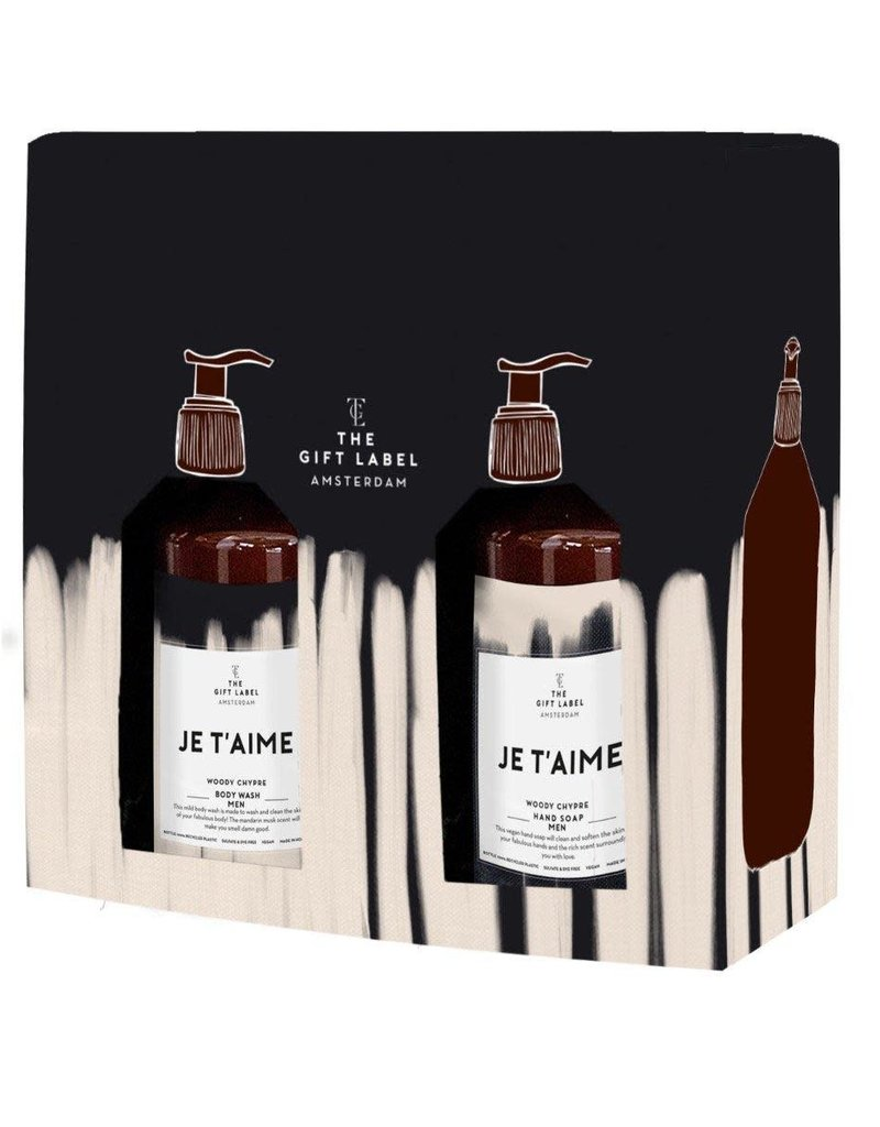 The Gift Label The Gift Label Gift Box Valentine Je t'aime - HIM
