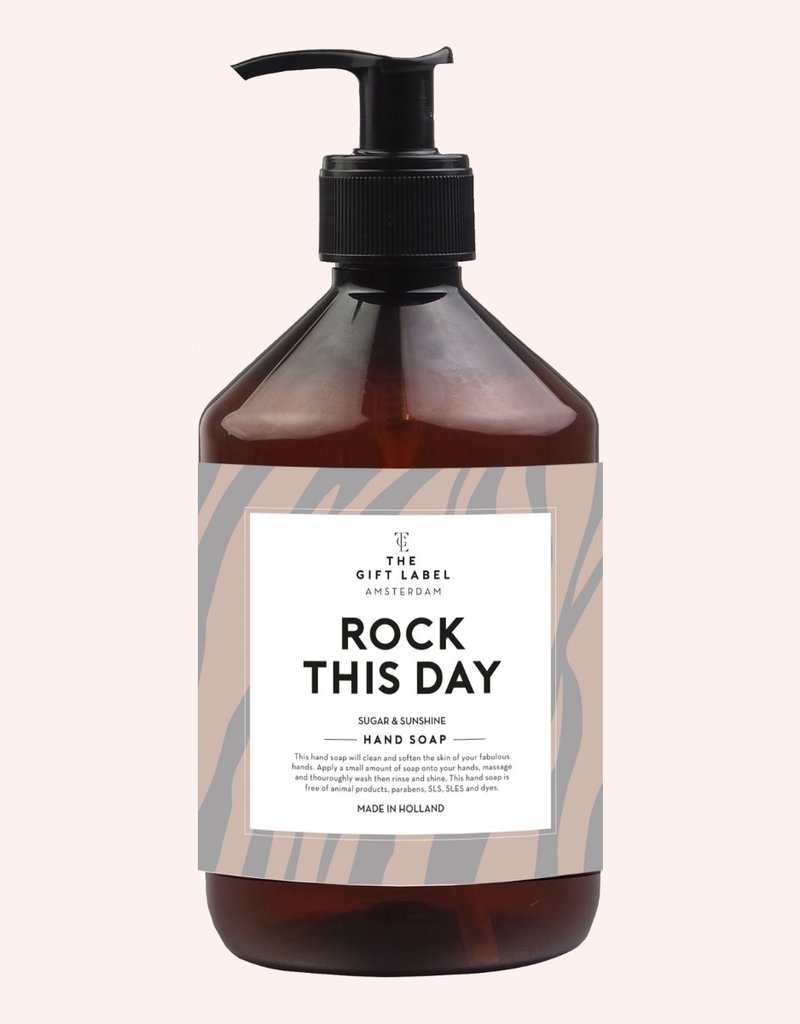 The Gift Label The Gift Label Handsoap Rock this day
