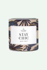 The Gift Label The Gift Label Candle Tin Stay Chic Fresh Cotton L