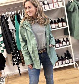 24Colours Rain Jacket Green