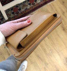 Elvy Elvy Alice Phone Wallet Cognac