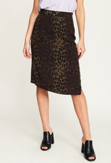 Rut & Circle Leo Split Skirt