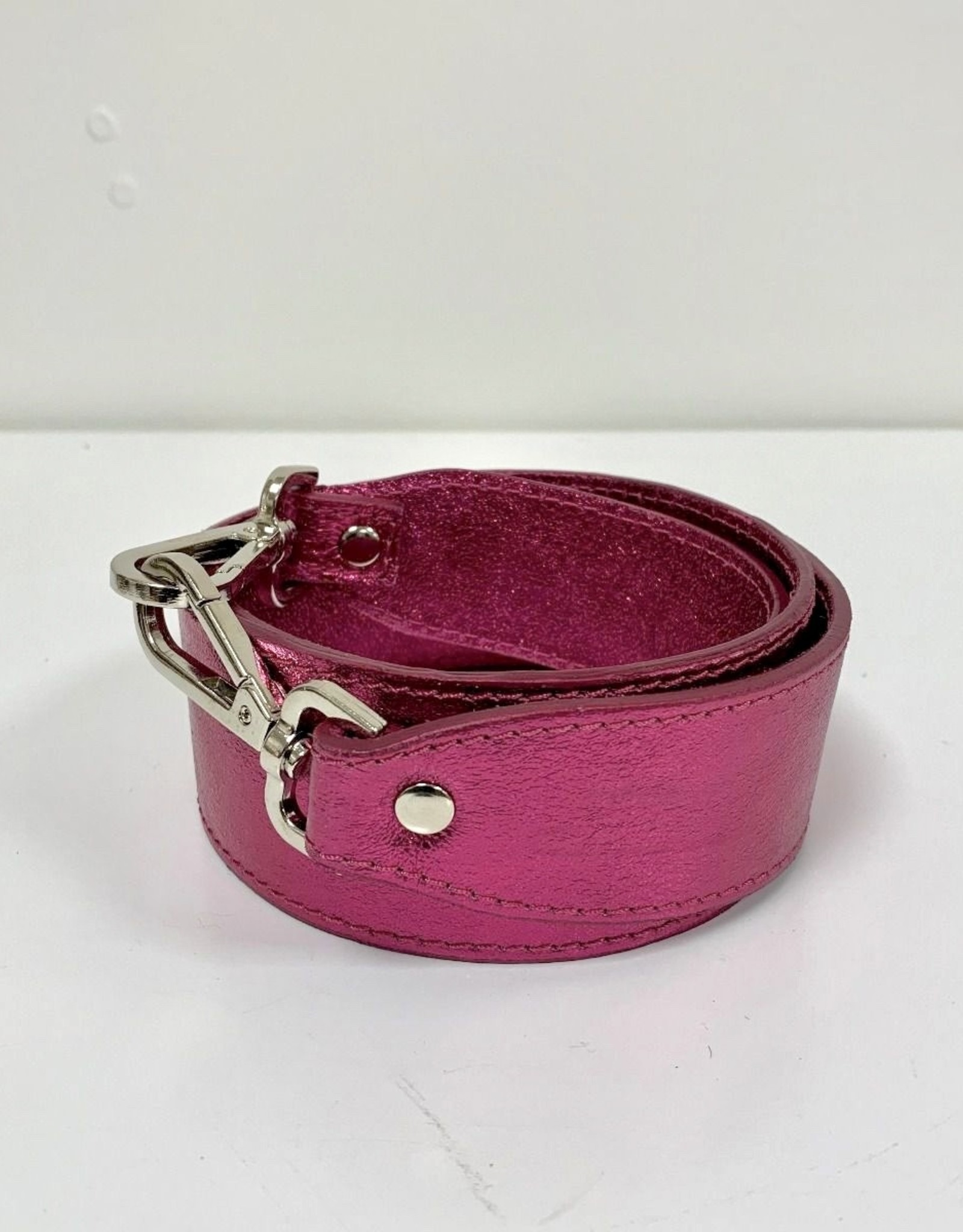 Rebelz Bag Strap Metallic Pink