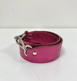 Rebelz Bag Strap Metallic Pink