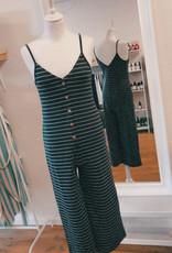 24Colours Jumpsuit Stripes Grey