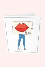 The Gift Label The Gift Label Card Big kiss