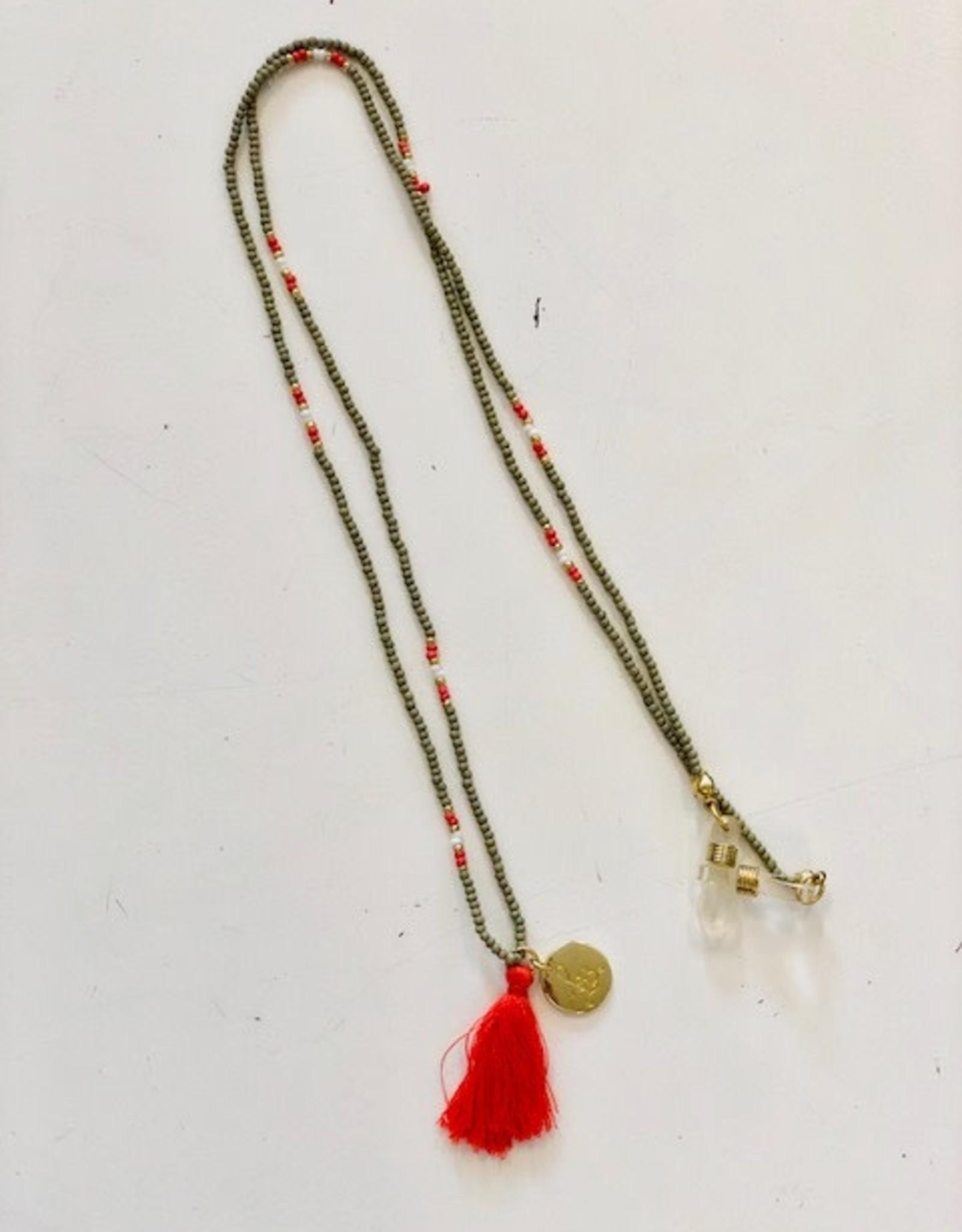 Bulu Bulu Happy Beads Suncords olive