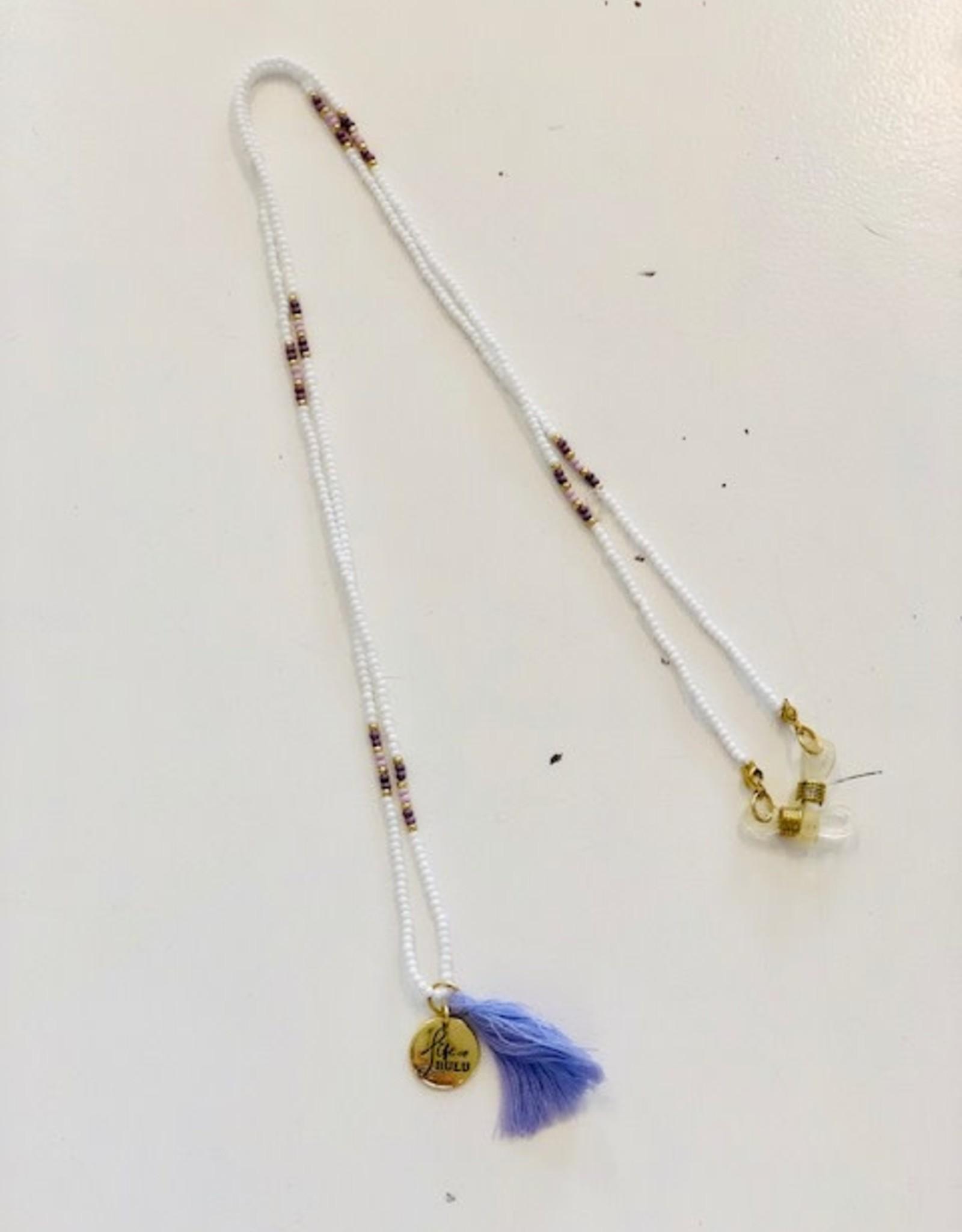 Bulu Bulu Happy Beads Suncords wit/paars