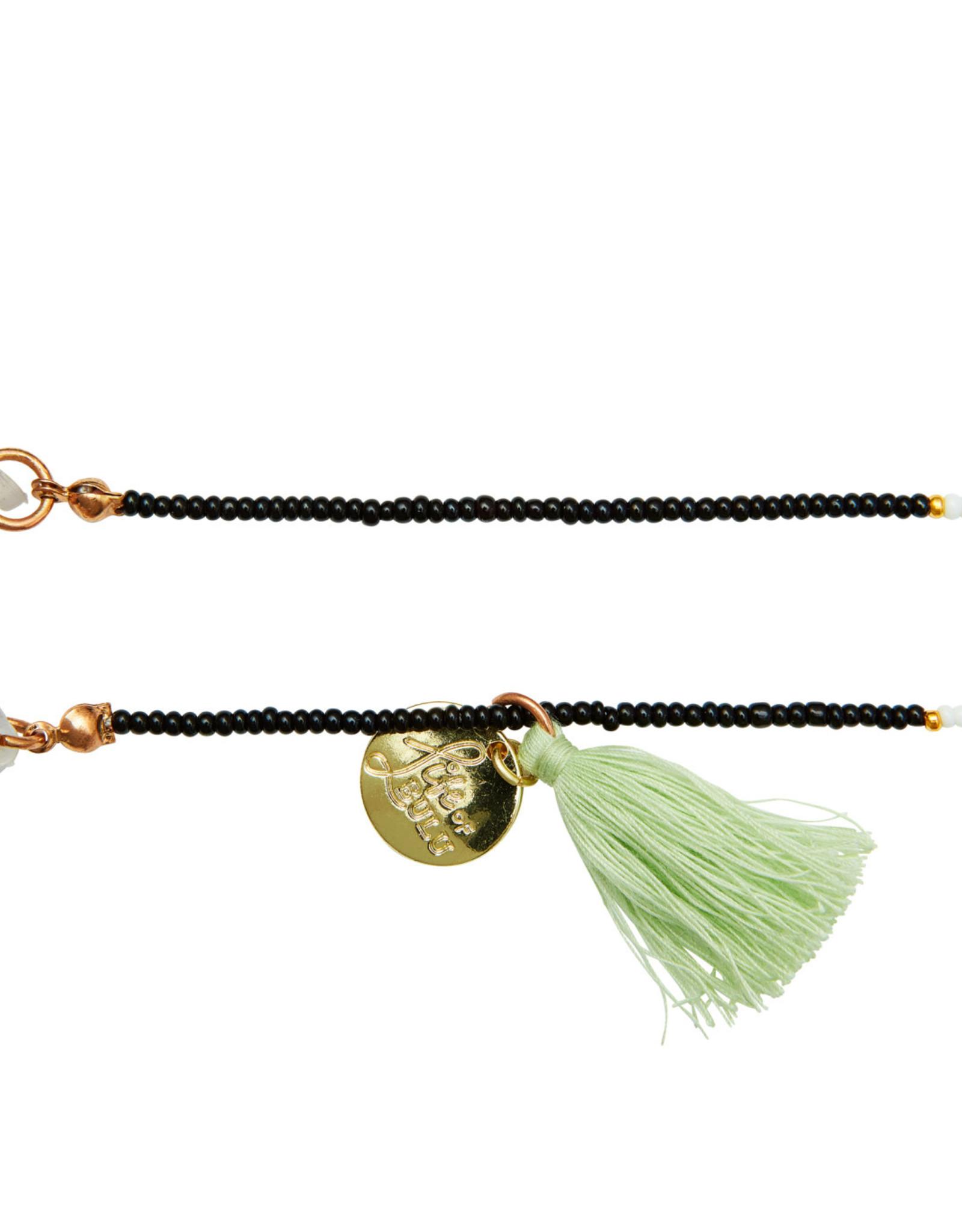 Bulu Bulu Happy Beads Suncords zwart