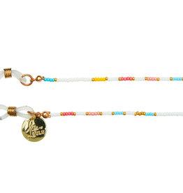 Bulu Bulu Happy Beads Suncords wit/geel