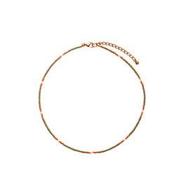 Bulu Bulu Happy Beads Necklace olive