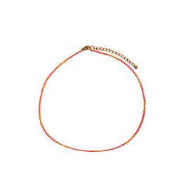 Bulu Bulu Happy Beads Necklace coral