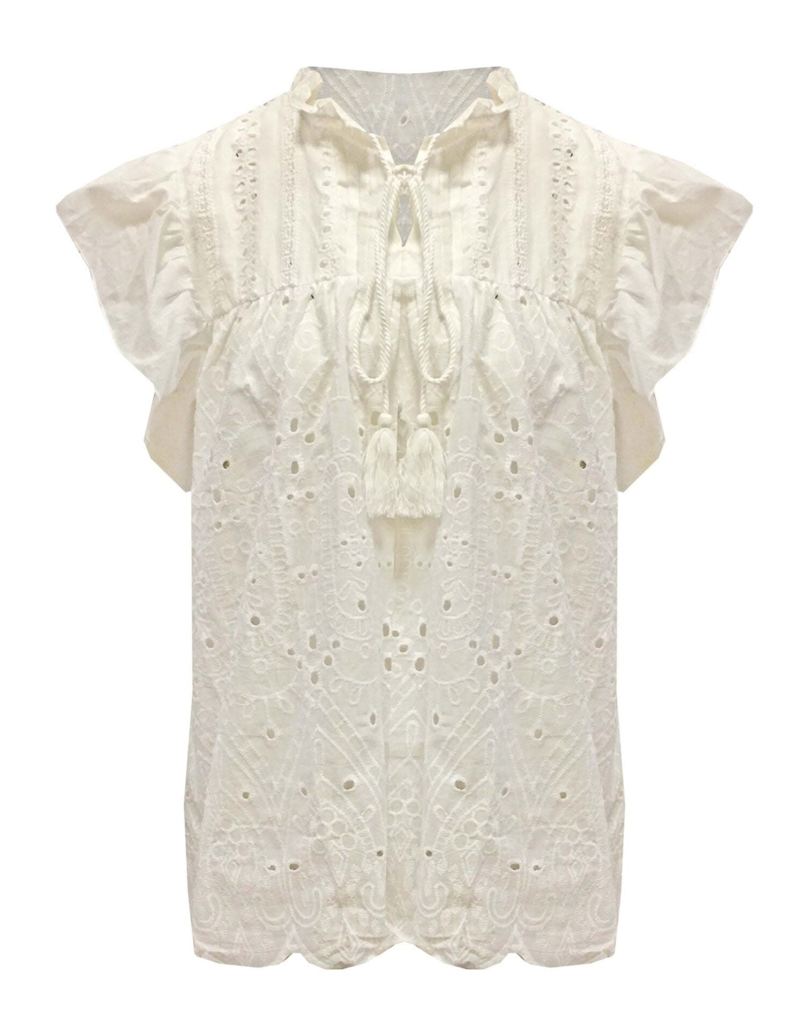 Boho Blouse White