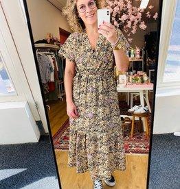 Ambika Flower dress Lila