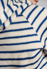 Snurk SNURK Breton blue hoodie Woman