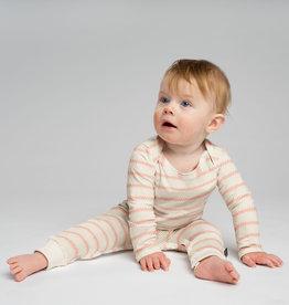 Snurk SNURK Breton Pink Jumpsuit Babies