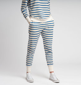 Snurk SNURK Breton Blue Pants Woman