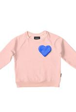 Snurk Snurk Clay Heart Sweater Kids