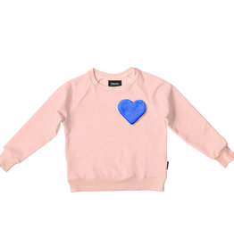 Snurk Snurk Clay Heart Sweater Kids