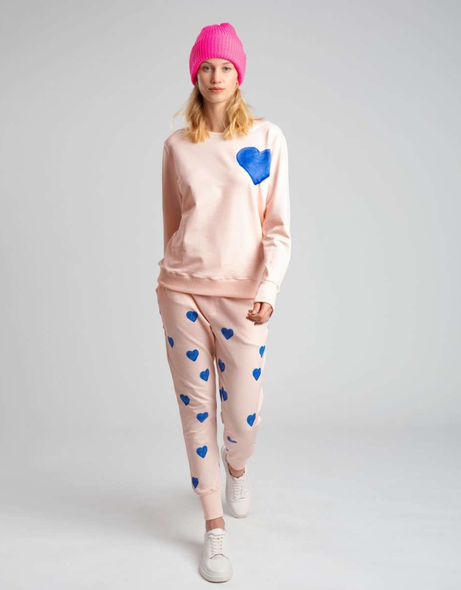 Snurk SNURK Clay Hearts Sweater Woman