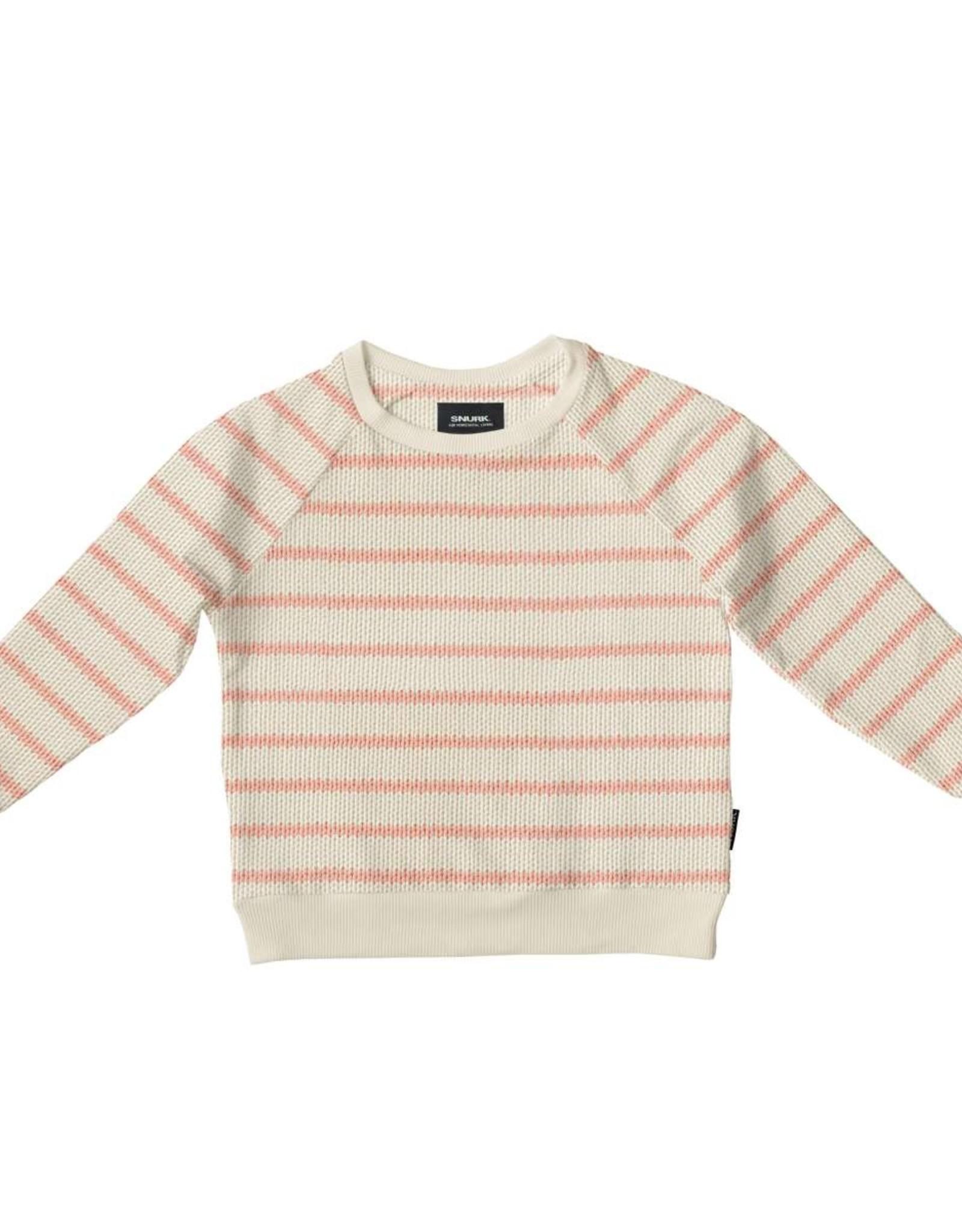 Snurk Snurk Breton Pink Sweater Kids