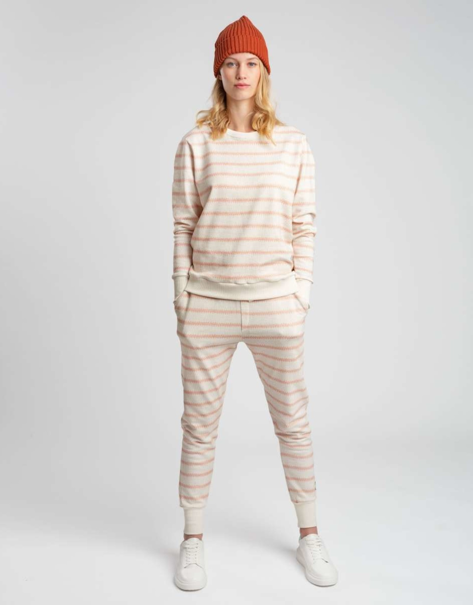 Snurk SNURK Breton Pink Sweater Woman