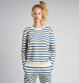 Snurk SNURK Breton Blue Sweater Woman