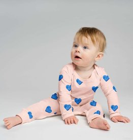 Snurk SNURK Clay Hearts Jumpsuit Babies