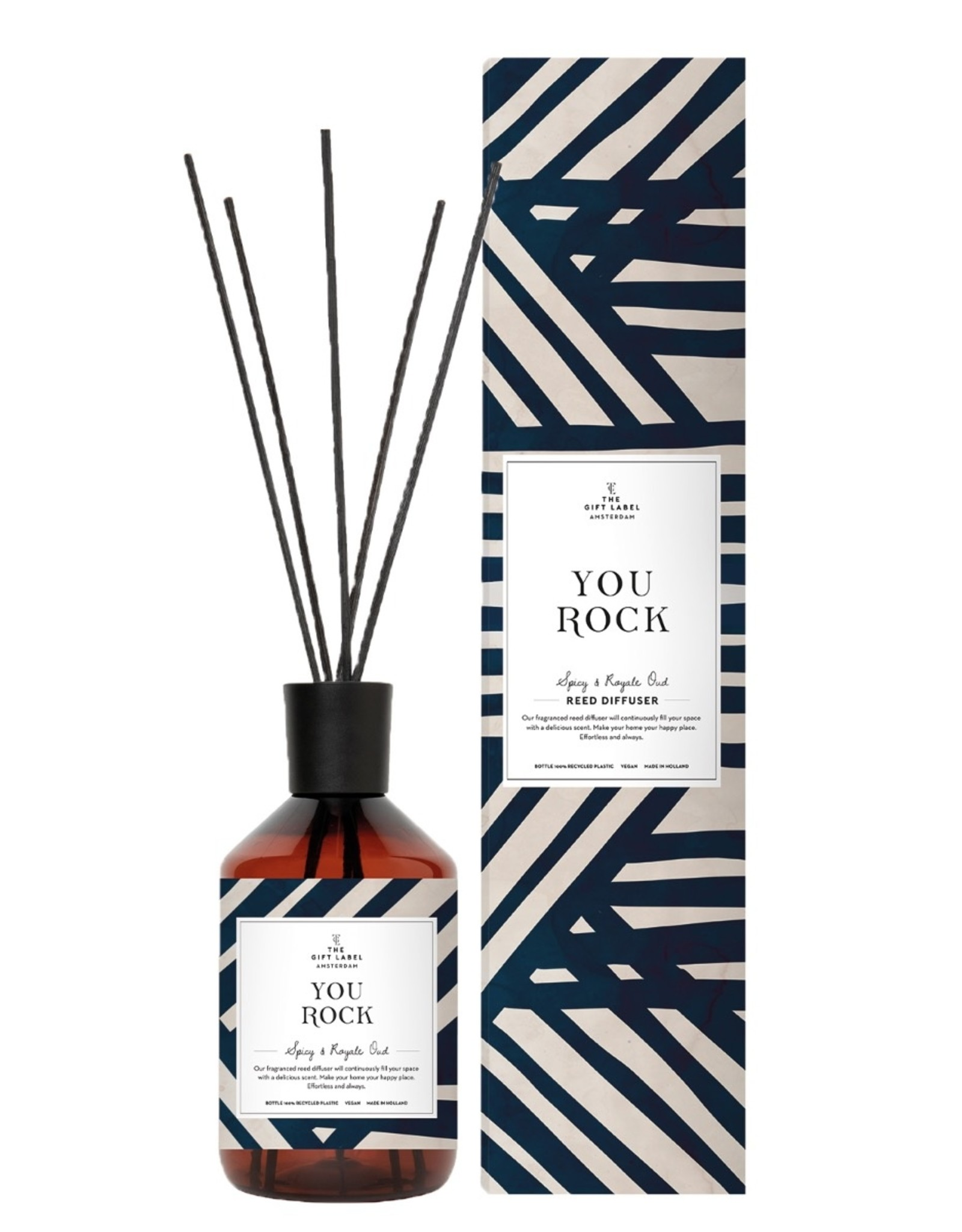The Gift Label The Gift Label Reed Diffuser You Rock