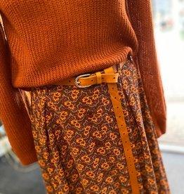 Elvy Elvy belt plain 20244 Cognac