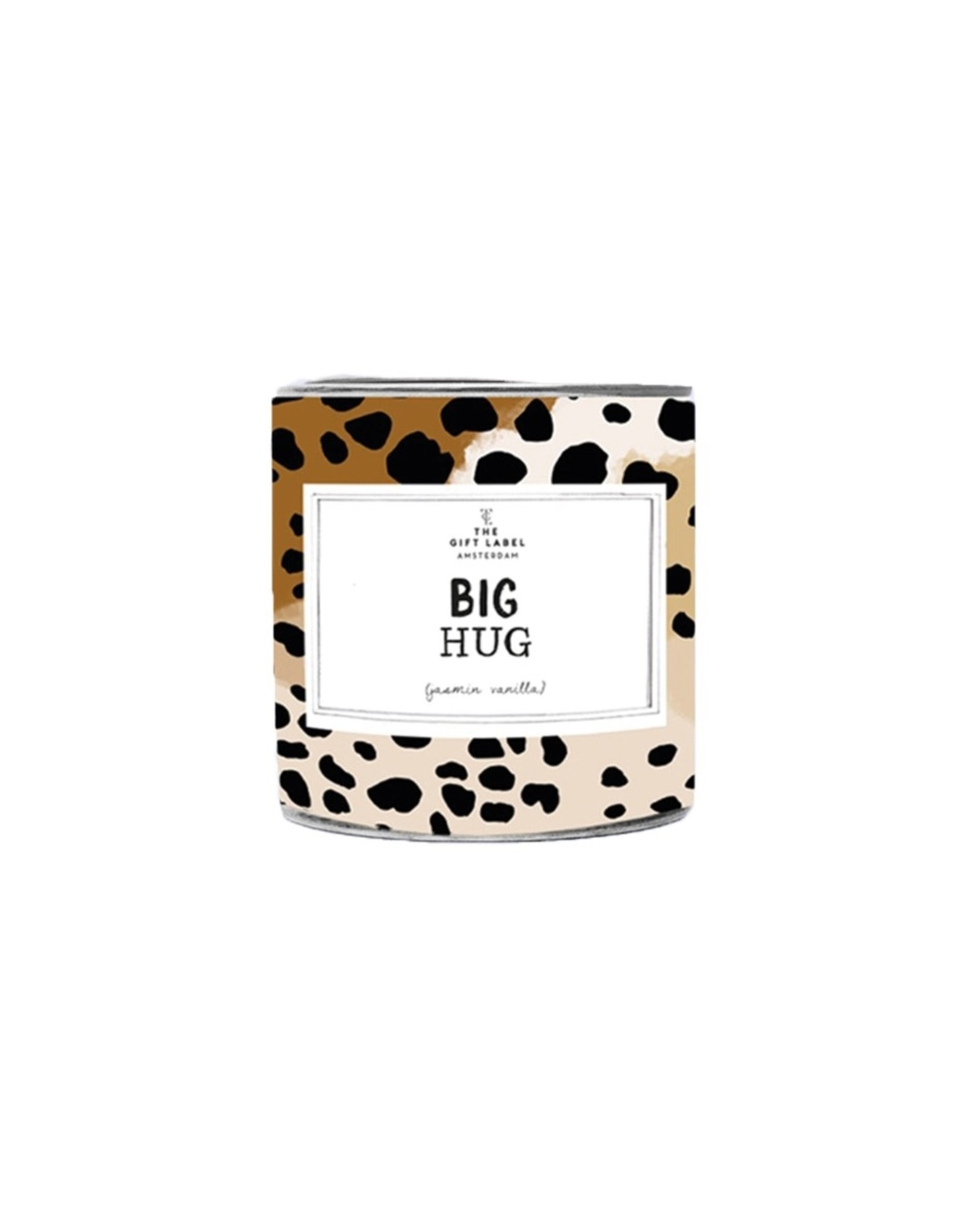 The Gift Label The Gift Label Candle Tin Big Hug Jasmine / Vanilla S
