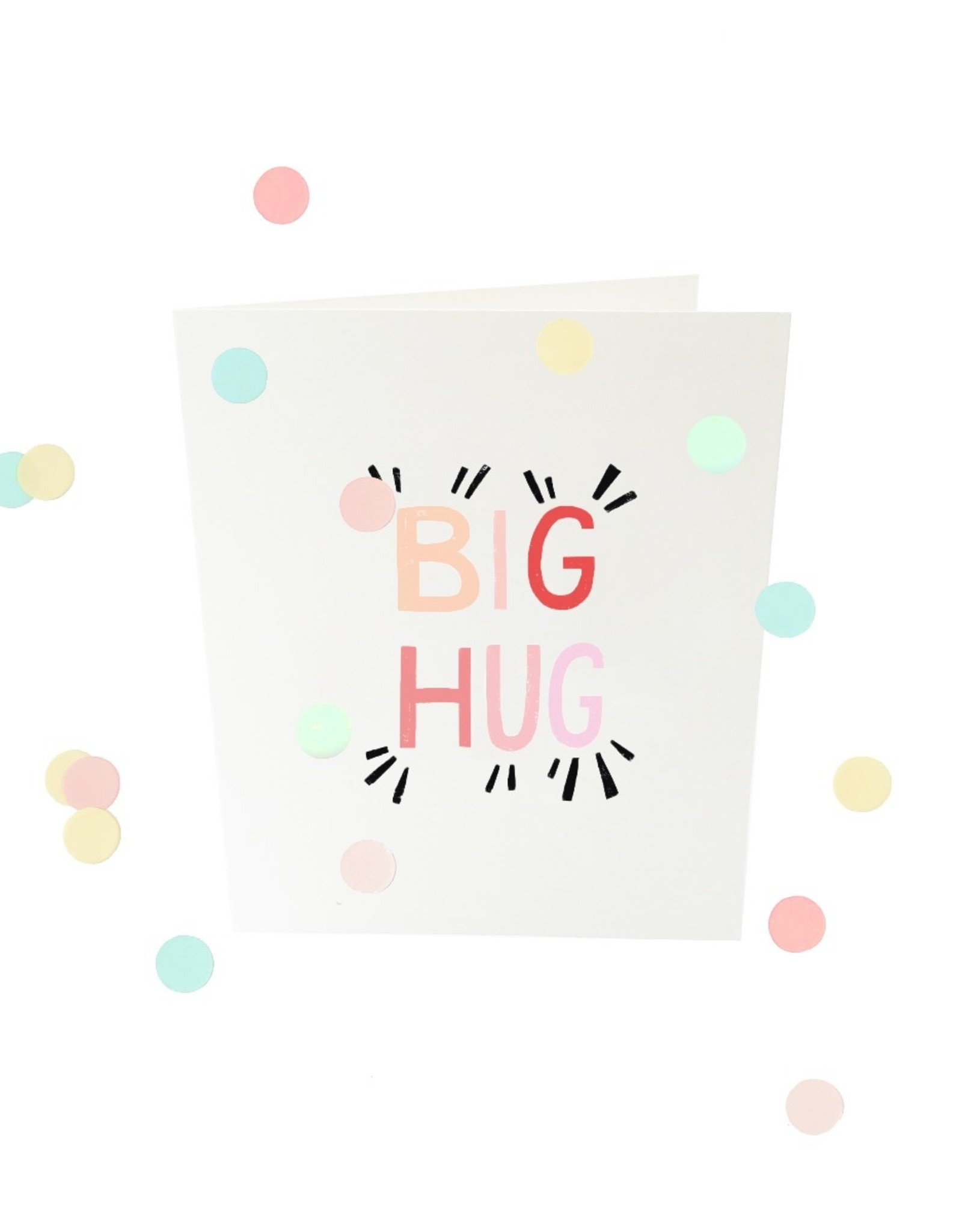 The Gift Label The Gift Label Confetti Card Big Hug