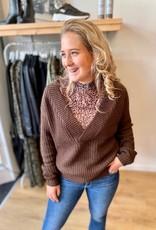 Rut & Circle Melody V-Neck Knit