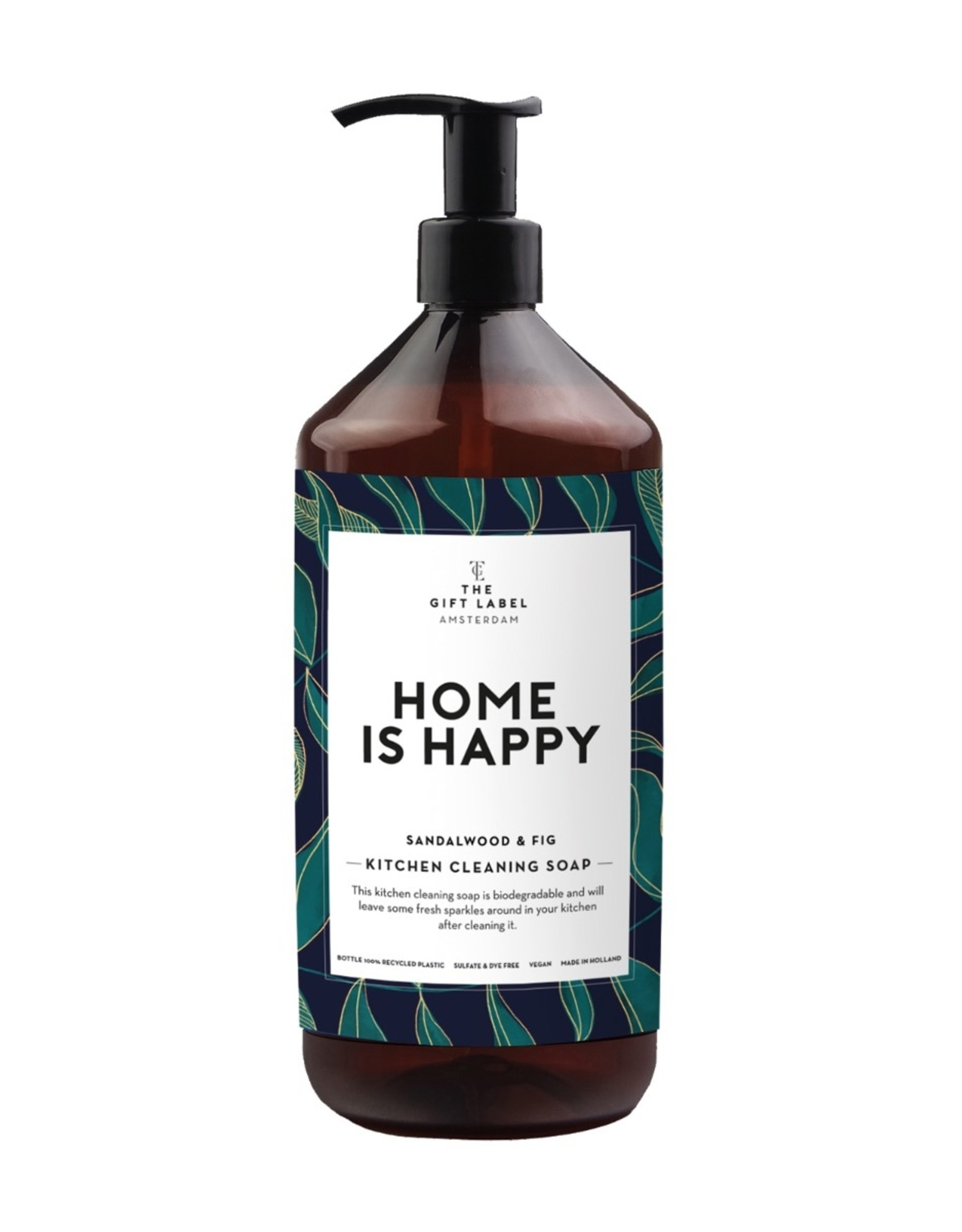 The Gift Label The Gift Label Kitchen Cleaning Soap Home is Happy