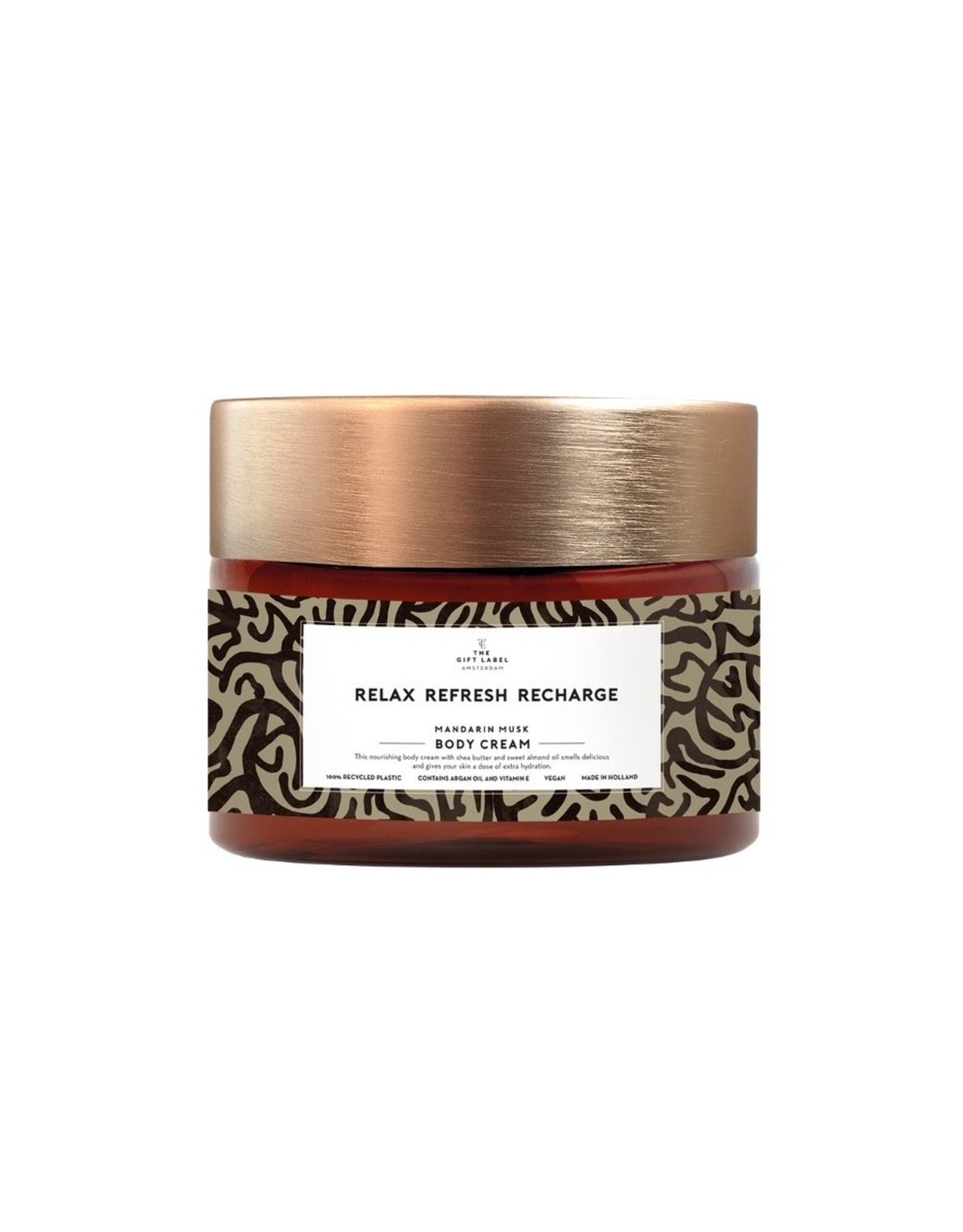 The Gift Label The Gift Label Body Cream Relax and Recharge