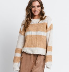 Rut & Circle Rut & Circle Nora Striped Knit