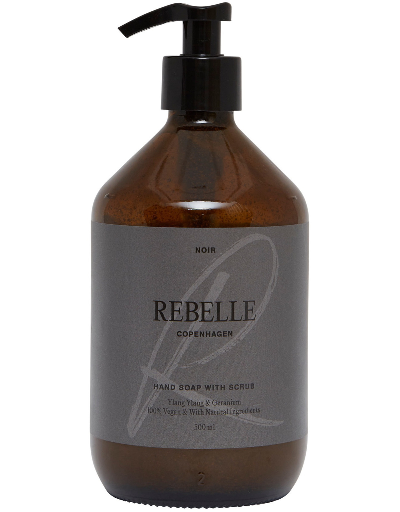 Rebelle Rebelle Vegan Hand Soap With Scrub Noir