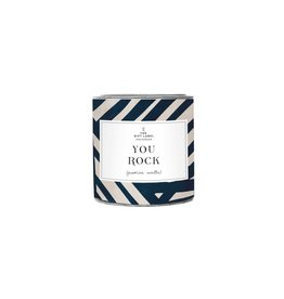 The Gift Label The Gift Label Candle Tin You Rock Cotton S