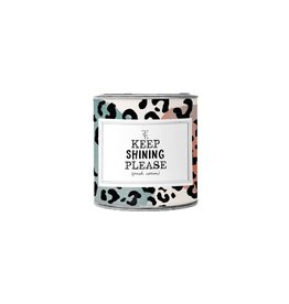 The Gift Label The Gift Label Candle Tin Keep Shining Firewood S