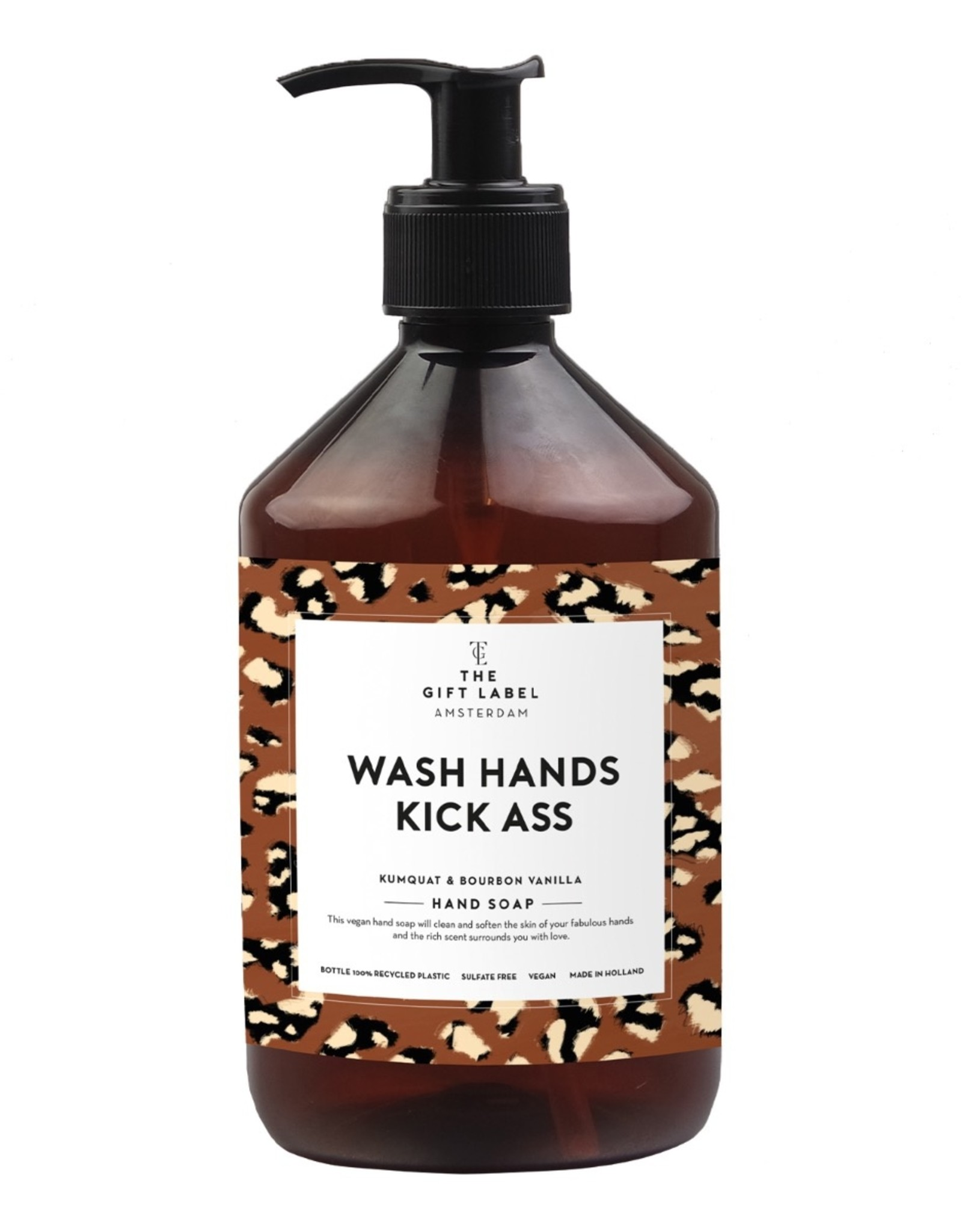 The Gift Label The Gift Label Hand Soap Wash Hands Kick Ass