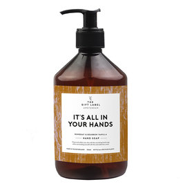 The Gift Label The Gift Label Hand soap It's all in your hands