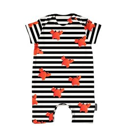 Snurk Clay Crab Playsuit Babies