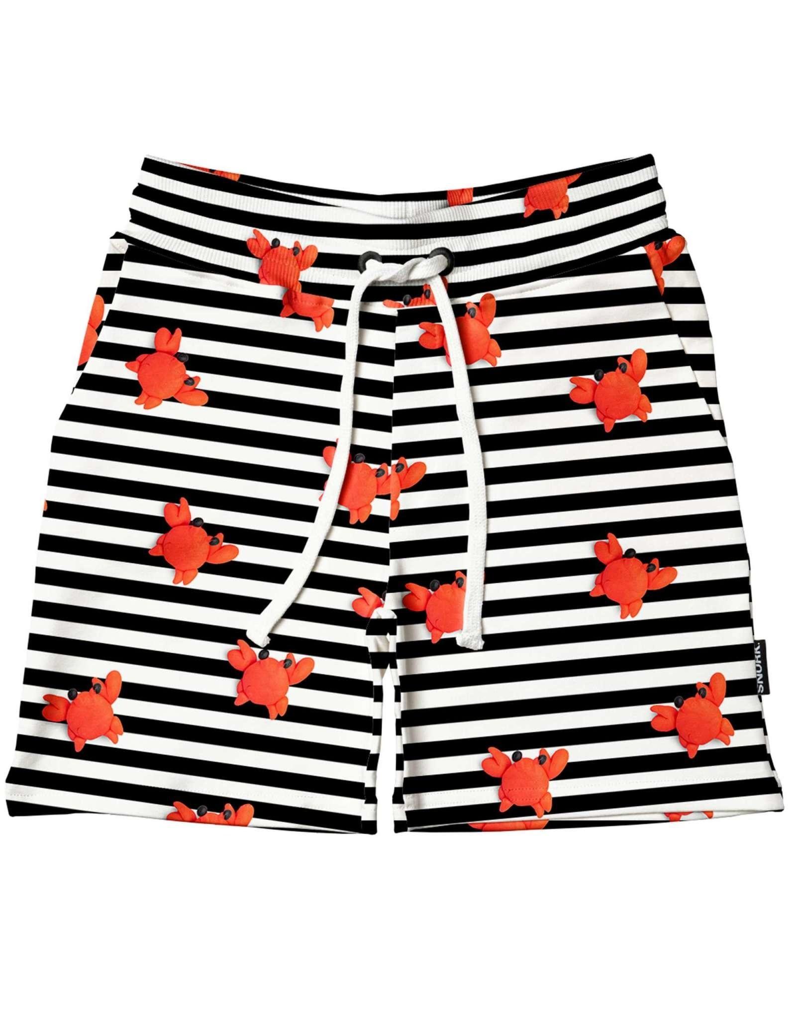 Snurk Snurk Clay Crab Shorts Kids